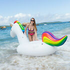 NEW SLAIYA Giant Unicorn Inflatable Swimming Pool Float Raft For Adults