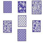 Rectangle Swirls Frame Cutting Dies Stencil Scrapbook Album Embossing Card Craft