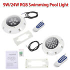 Swimming Pool Light RGB LED Bulb Underwater Wall Lighting +Remote Control