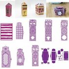 3D Box Panels Lace Cutting Dies Stencil Scrapbooking DIY Paper Card Handcrafts