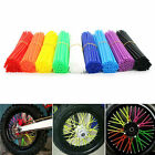 Universal 36/72pcs Motocross Dirt Bike Enduro Wheel Rim Spoke Wraps Skins Covers