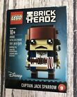 Lego Brickheadz Captain Jack Sparrow 41593 Pirates Of The Caribbean NEW Sealed