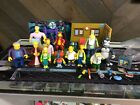 Playmates World Of The Simpsons Action Figure Playset  Accessory Lot See Pics
