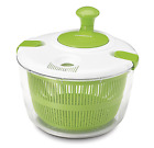 Salad Spinner Green and White