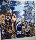 HOLY NIGHT NATIVITY QUILT TOP