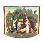 Christmas Nativity Sculpture Set Musical Light Up Indoor Home Xmas Decorations