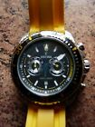 festina mens watch F16574,working, including chronograph set at 12, new battery.