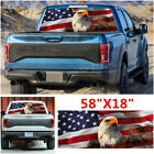 American Flag Eagle Car Pickup Windshield Rear Window Tint Graphic Decal Sticker