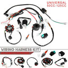Wiring Harness Ignition System set 4 stroke 50CC 125CC Quad Cluster Switch Parts