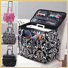 ROLLING SEWING MACHINE TOTE Craft Storage Cart Portable Bag Case 3 CHOICES