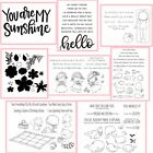 Summer Pharses Holiday Transparent Clear Silicone Stamp Seal scrapbooking Crafts