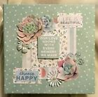 TPHH Premade Handmade Our Love Grows With Every Memory We Make Scrapbook Album
