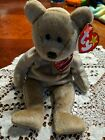 Ty Beanie Babies last year 1999 signature bear with ty initial on chest. Mint