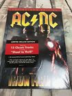AC/DC Iron Man 2 CD & DVD Collector's edition with comic, poster stickers Sealed