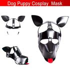 Sexy Cosplay Role Play Dog Head Mask Soft Padded Latex Rubber Puppy