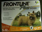 Frontline Plus Flea and Tick Control for Dogs and Puppies 5 22 lbs 6 application