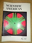 SCIENTIFIC AMERICAN magazine 1967 Pesticides Tom Thumb Midgets Tektites Viruses