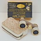 Opera Glasses With Soft Case 25 X 23 Continental Optics Mother of Pearl w Box