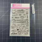 Clearly Besotted Clear Stamps Set Forest Friends