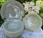 *1* Fire-King Gray Grey Laurel Salad Plate *Mint Condition*