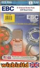 EBC Rear R Brake Pad Tomos SE 125 F 2005-2008 FA115R
