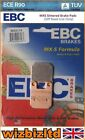 EBC Rear MXS Brake Pad Beta RR Enduro Alu 50/Motard Alu 50 2004-2008 MXS115