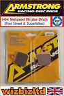 Armstrong Front Right HH Brake Pad Malanca 125 ob one M6 Racing 1985