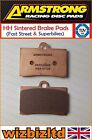 Armstrong Front HH Brake Pad Borile B 500 MT 2002 PAD320085