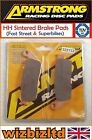 Armstrong Front HH Brake Pad MBK VP 125 Cityliner 2008-2010 PAD322132