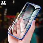 Ultra Thin Clear Soft TPU Plating Case Phone Cover For Samsung Galaxy A70 C5 Pro