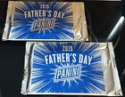 2 X 2019 Panini Father's Day SEALED MULTI-SPORT PROMO PACK LOT