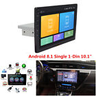 Android 81 Single 1DIN 101 HD Quad Core Car Stereo Radio Player GPS WiFi BT