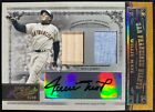 Willie Mays 2005 Playoff Prime Cuts Gold Dual Patch Auto 2 10! Giants HOF!