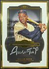 Willie Mays 2013 Topps Museum Collection Gold Framed Auto Silver Ink 3 15!
