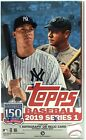 (3) 2019 Topps Series 1 Hobby Boxes & 3 Silver Packs 3 Box Lot