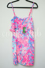 NEW NWT Lilly Pulitzer LEXI Slip Dress in Light Pascha Pink Aquadesiac S 168