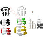 Plastics Fairing Fender Kit + Bolts for KLX110 DRZ110 KX65 RM65 Pit Dirt Bike