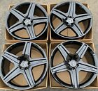 21 Mercedes Benz AMG GL550 Factory Rims Wheels OEM Black A1644017002 GL350 GL
