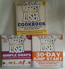 Lot of 3 Biggest Loser Books SIMPLE SWAPS Jump Start COOKBOOK Free Ship
