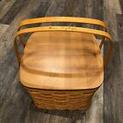 Collectible Basket 12 X12 X10 Tall Bonnie Longaberger signed Hand Woven 1998