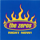 New! THE ZEROS Right Now! CD (Blue Cover) Spain Import Punk Rock El Vez SoCal