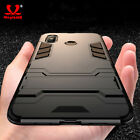 For Samsung Galaxy A40 A70 A10 Heavy Duty Armor Luxury Stand PC Phone Case Cover