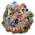 Pack of 100 Motorcycle Car Bumper Stickers Decals Vinyls Random Styles Mix Lot