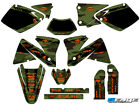 2001 2002 FITS KTM EXC 125 200 250 300 380 400 520 GRAPHICS KIT DECO DECALS