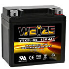Weize YTX5L-BS High Performance-Maintenance Free-Sealed AGM Motorcycle Battery