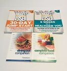 Biggest Looser Cookbooks +Weight Watchers Complete Food  Dining Out Companion