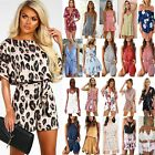 Summer Women Holiday Mini Playsuit Jumpsuit Party Beach Shorts Boho Dress Romper