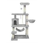 62 Cat Tree Condo Furniture Scratching Post Pet Cat Kitten House