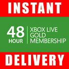 Xbox Live 48 Hour Gold Trial Membership Code 2 Days Instant Dispatch 24 7