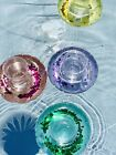 NEW Set 4 INFLATABLE GLITTER FLOATING CUP DRINK Holders Swimming Pool Party